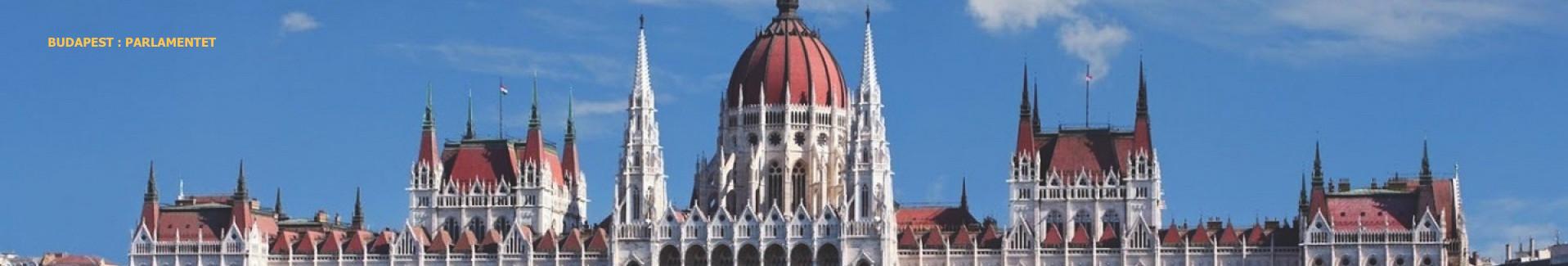 billig grupperejse til Budapest