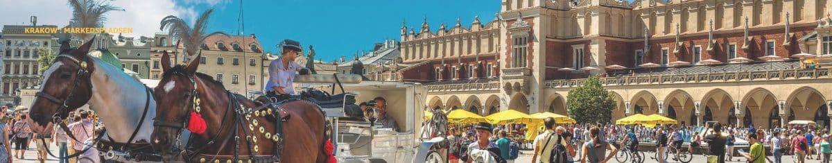 billig grupperejse til Krakow
