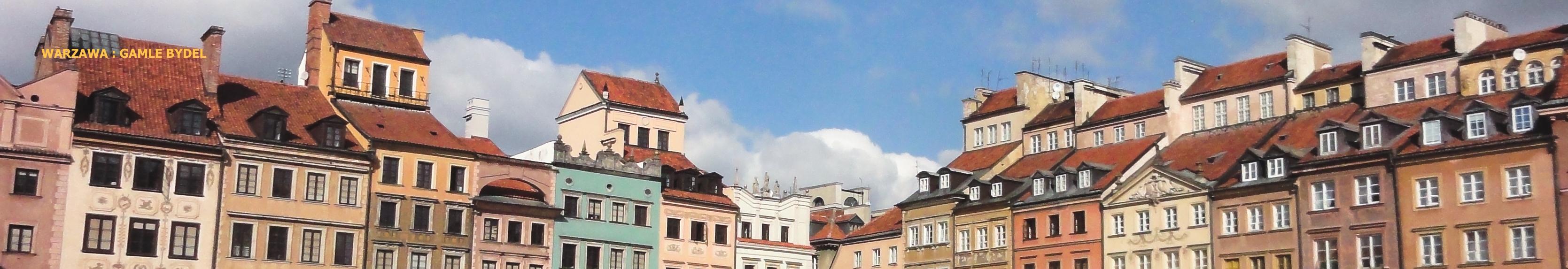 billig grupperejse til Warszawa