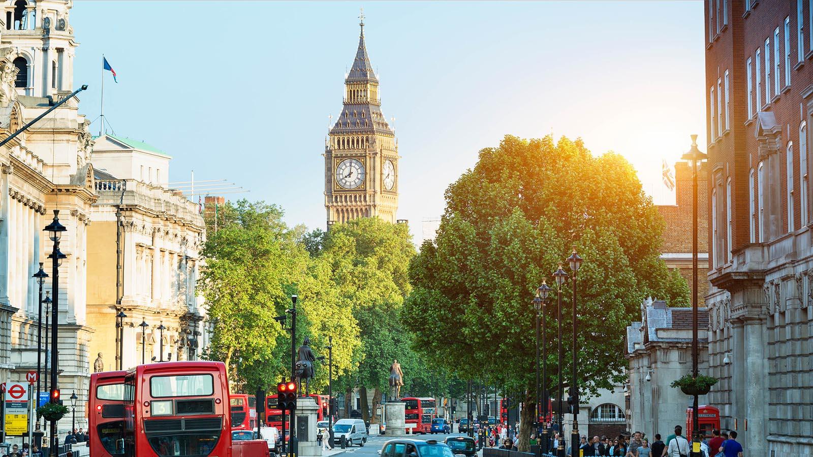 Grupperejser og studieture til London
