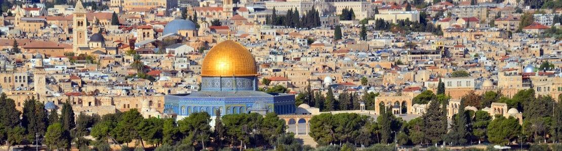 Grupperejser og studieture til Jerusalem