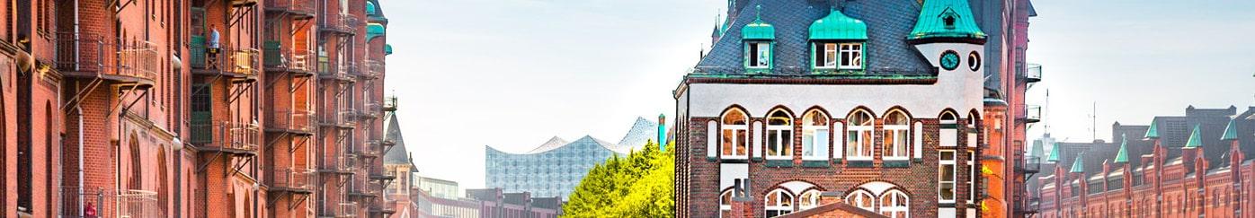 Billige grupperejser, studieture og skolerejser til Hamborg