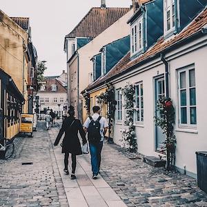Studietur til Odense og Fyn - Odenses hyggelige gader